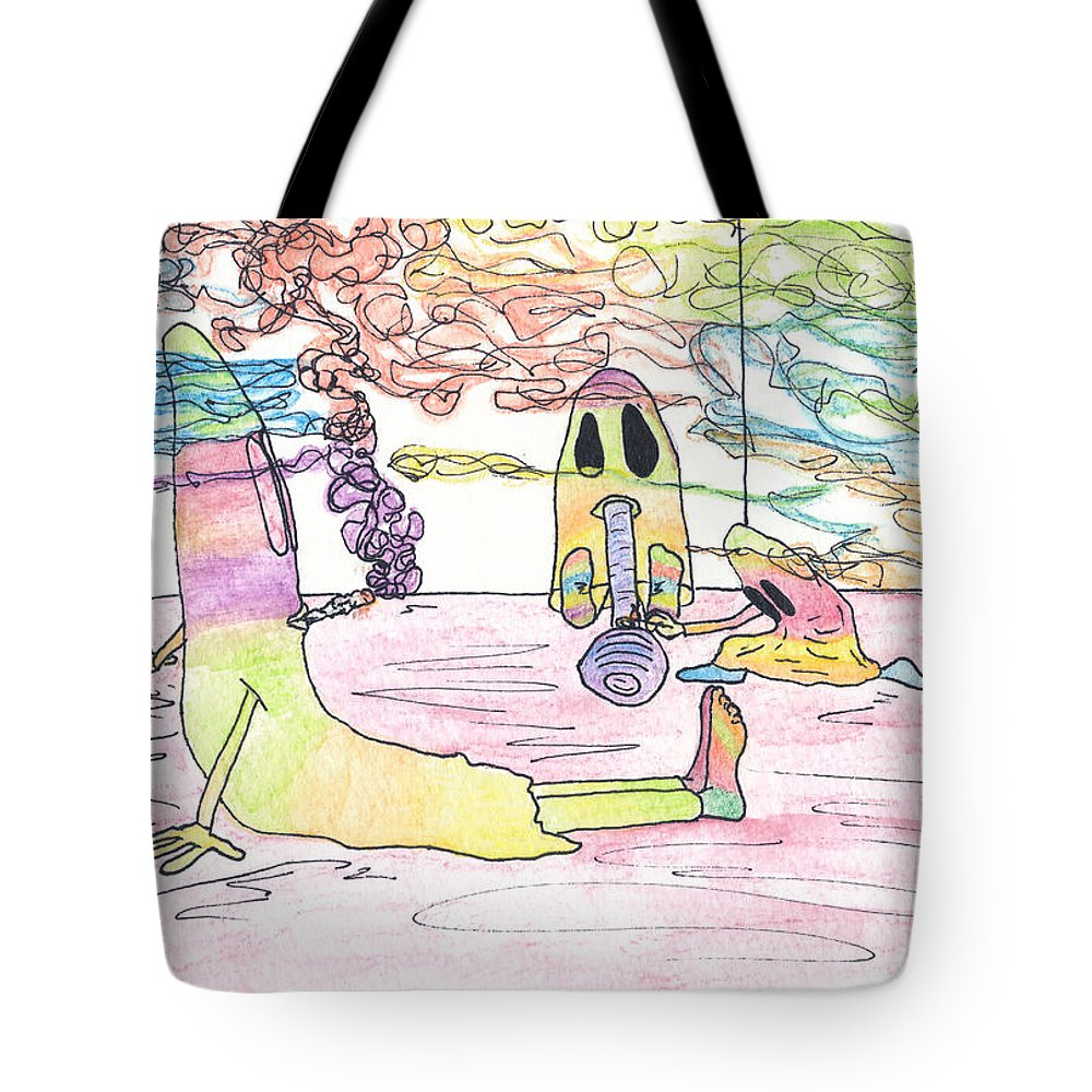 Halloween Art Tote Bag featuring the photograph Getting Ready To Scare by Michael Mooney