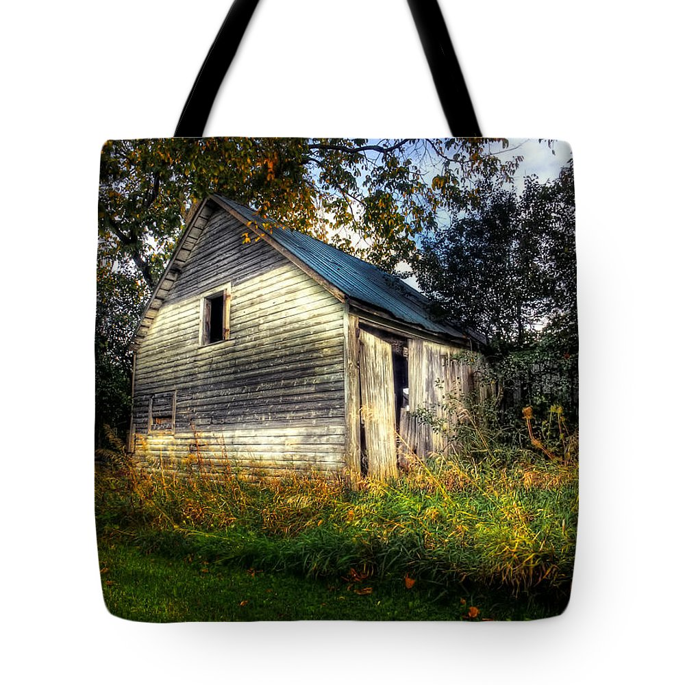xdop Tote Bag featuring the photograph Ghosting Weeds by John Herzog