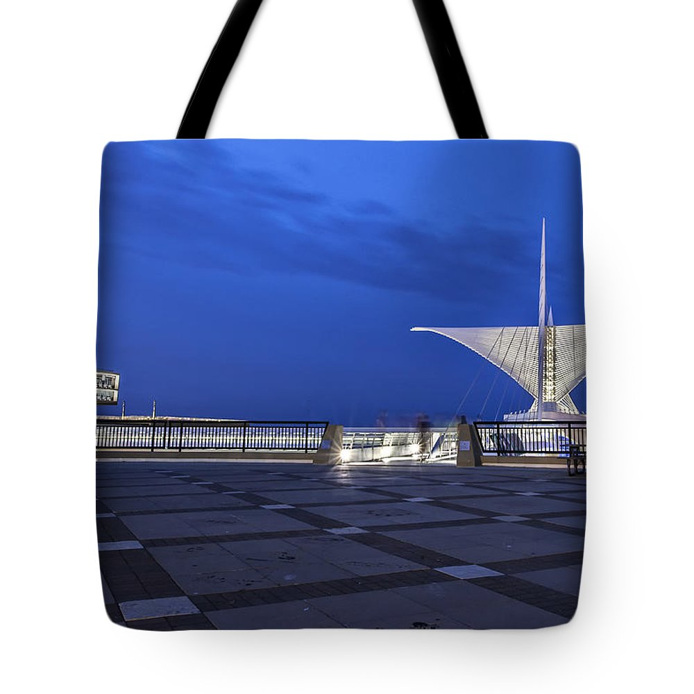 Cj Schmit Tote Bag featuring the photograph Ghosts And Art by CJ Schmit
