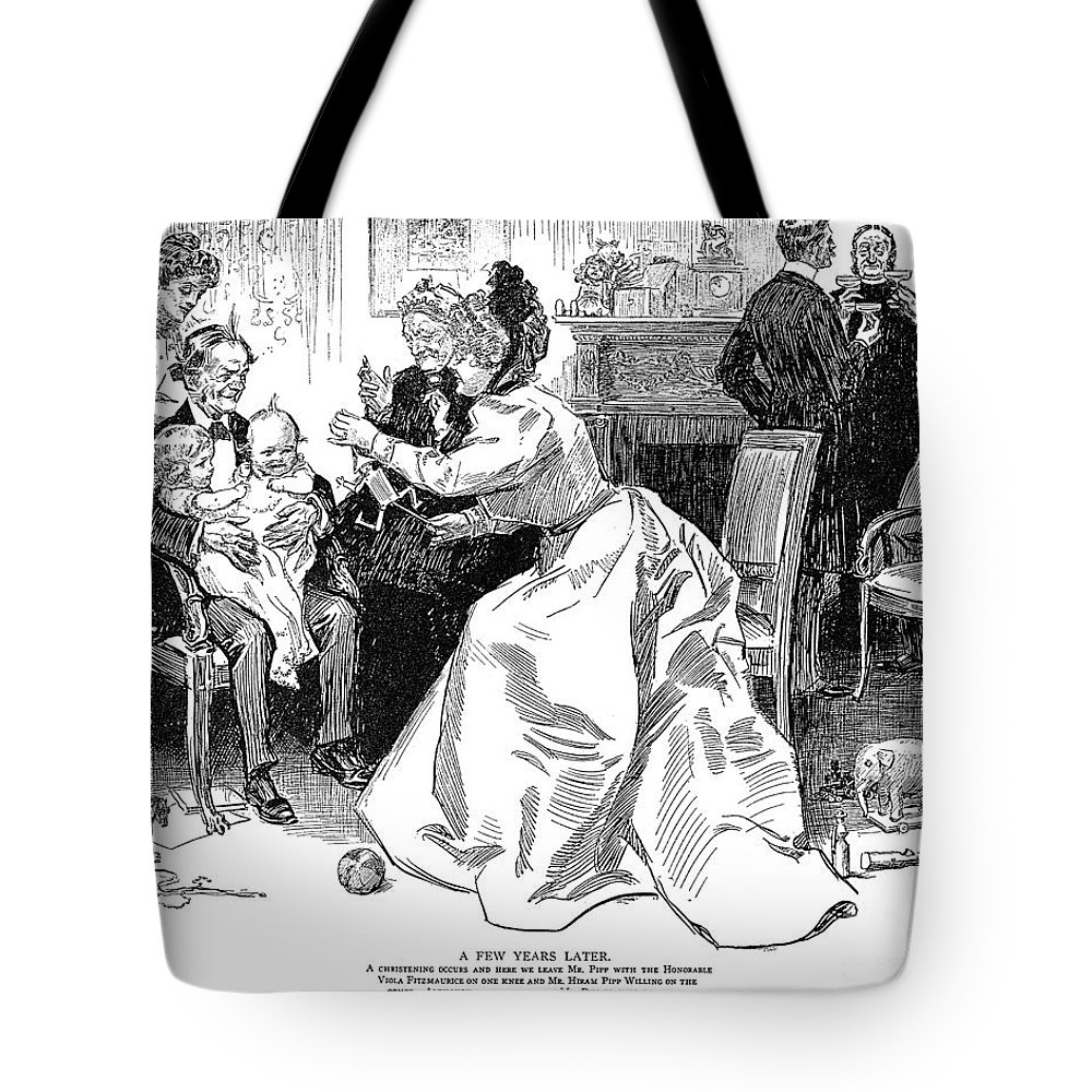 1899 Tote Bag featuring the photograph Gibson: A Few Years Later by Granger