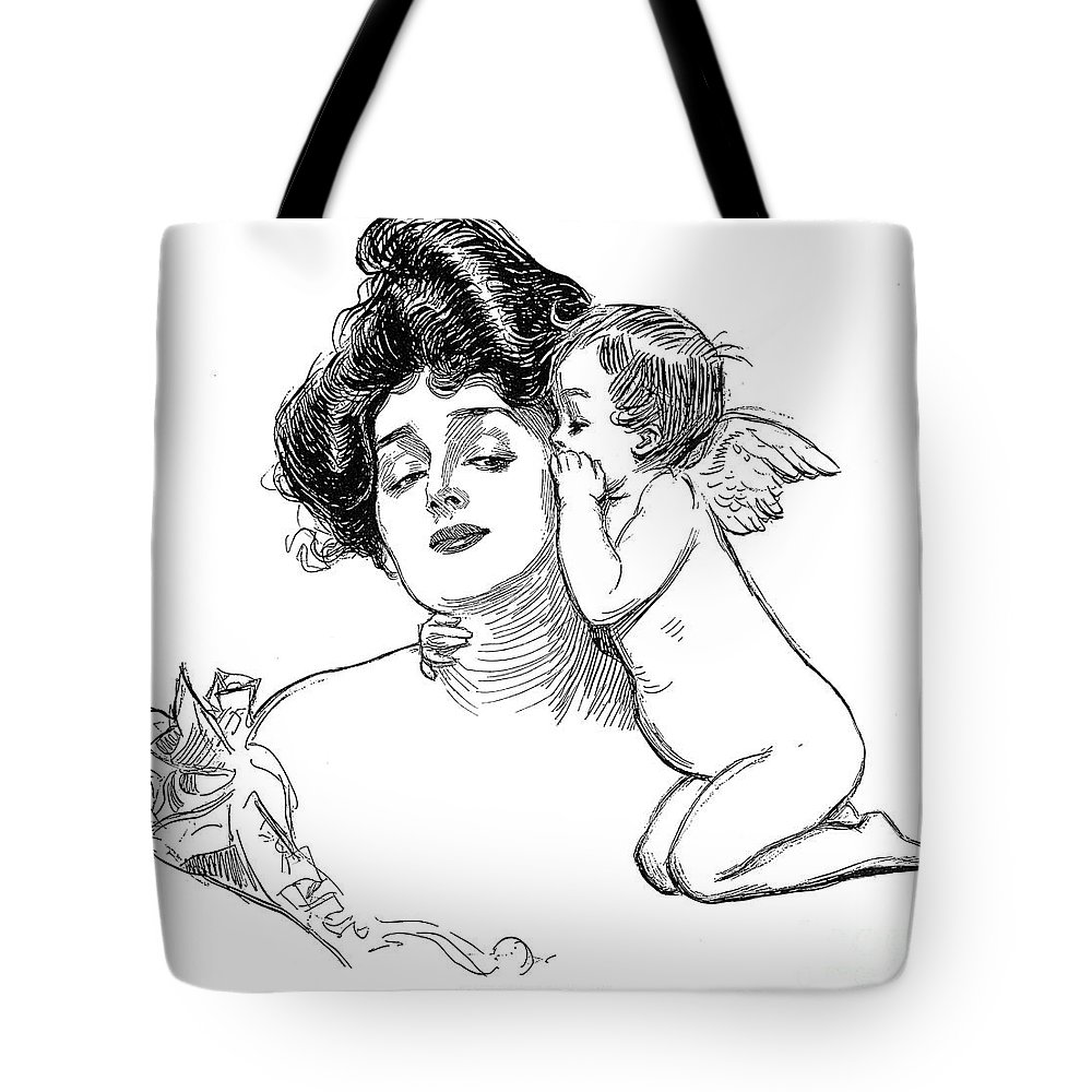 1902 Tote Bag featuring the photograph Gibson: Story, 1902 by Granger