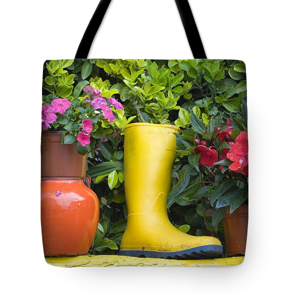 Boot Tote Bag featuring the photograph Glengarriff, County Cork, Ireland by Richard Cummins