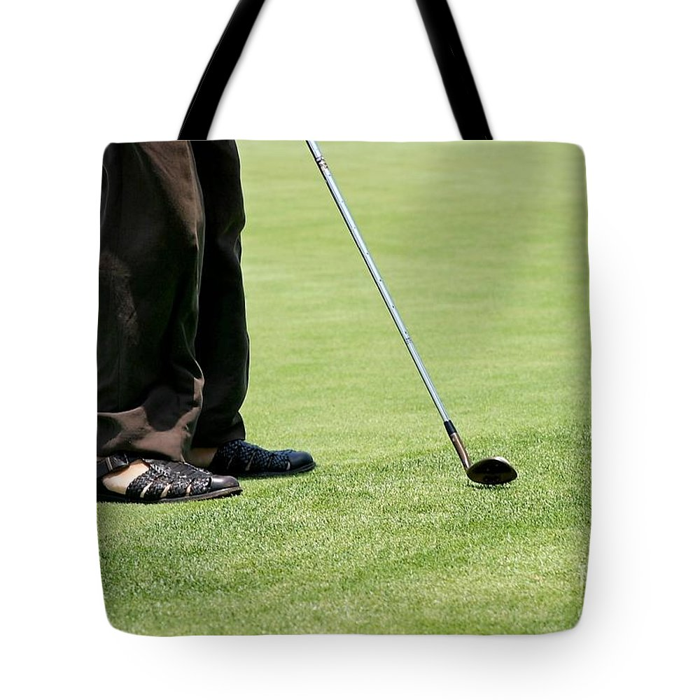 Tote Bag featuring the photograph Golf Feet by Henrik Lehnerer