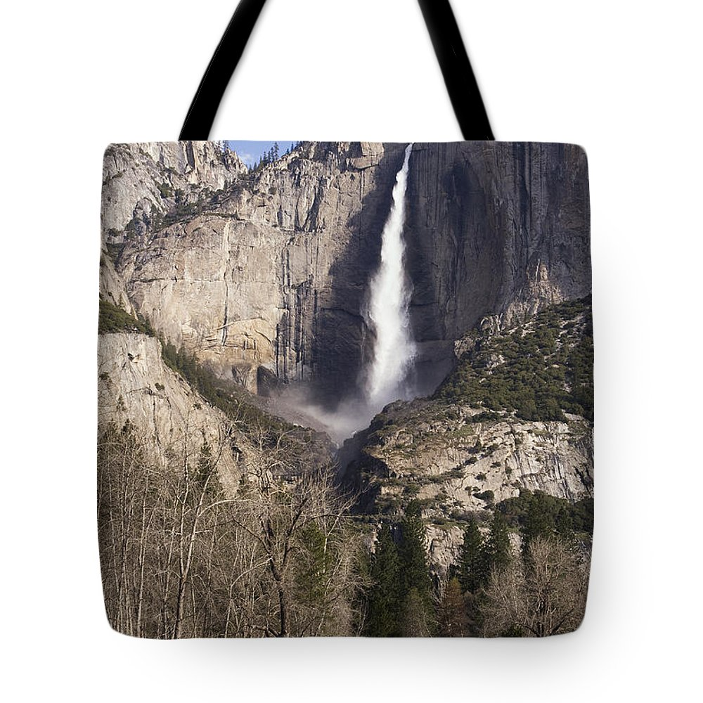 Good Morning Yosemite Tote Bag featuring the photograph Good Morning Yosemite by Wes and Dotty Weber