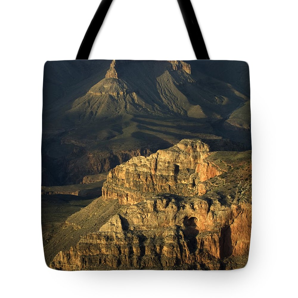 Tote Bag featuring the photograph Grand Canyon by Bob Christopher