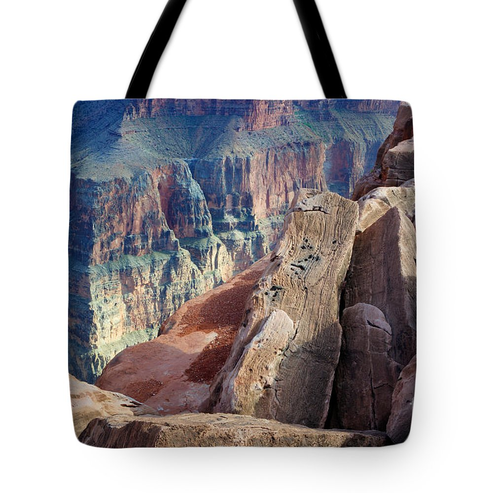 Grand Canyon Tote Bag featuring the photograph Grand Canyon Roxie Roller by Bob Christopher