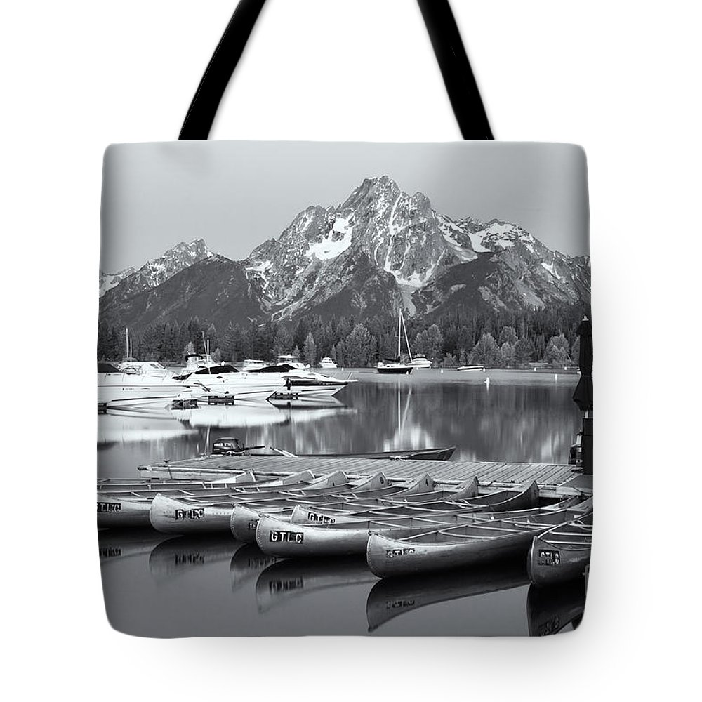 Clarence Holmes Tote Bag featuring the photograph Grand Teton Dawn Iv by Clarence Holmes