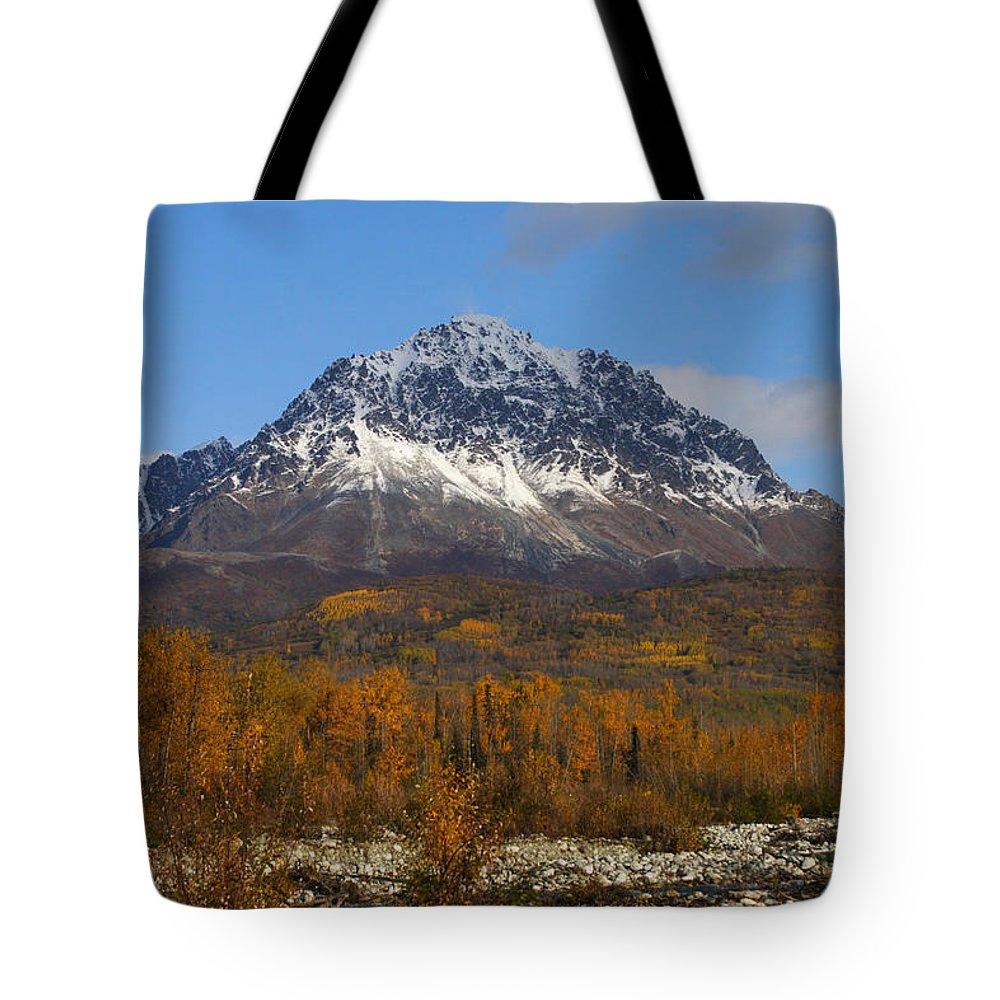 Doug Lloyd Tote Bag featuring the photograph Granite Mountain by Doug Lloyd