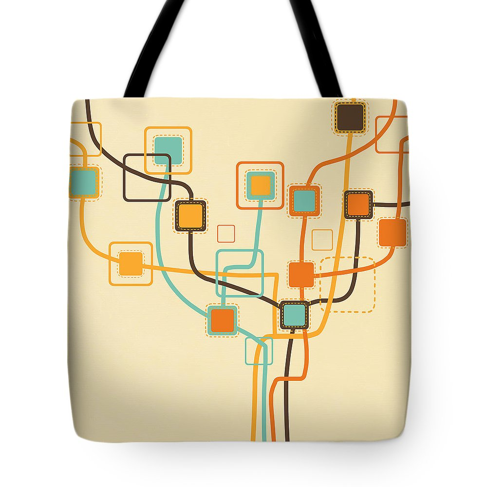 Connection Tote Bags