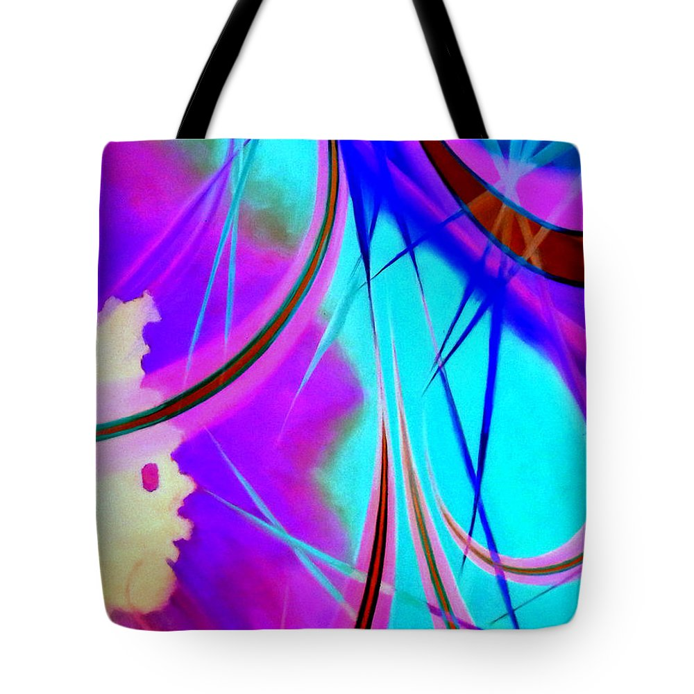 Australian Tote Bag featuring the painting Great Expectations 2 by Giro Tavitian