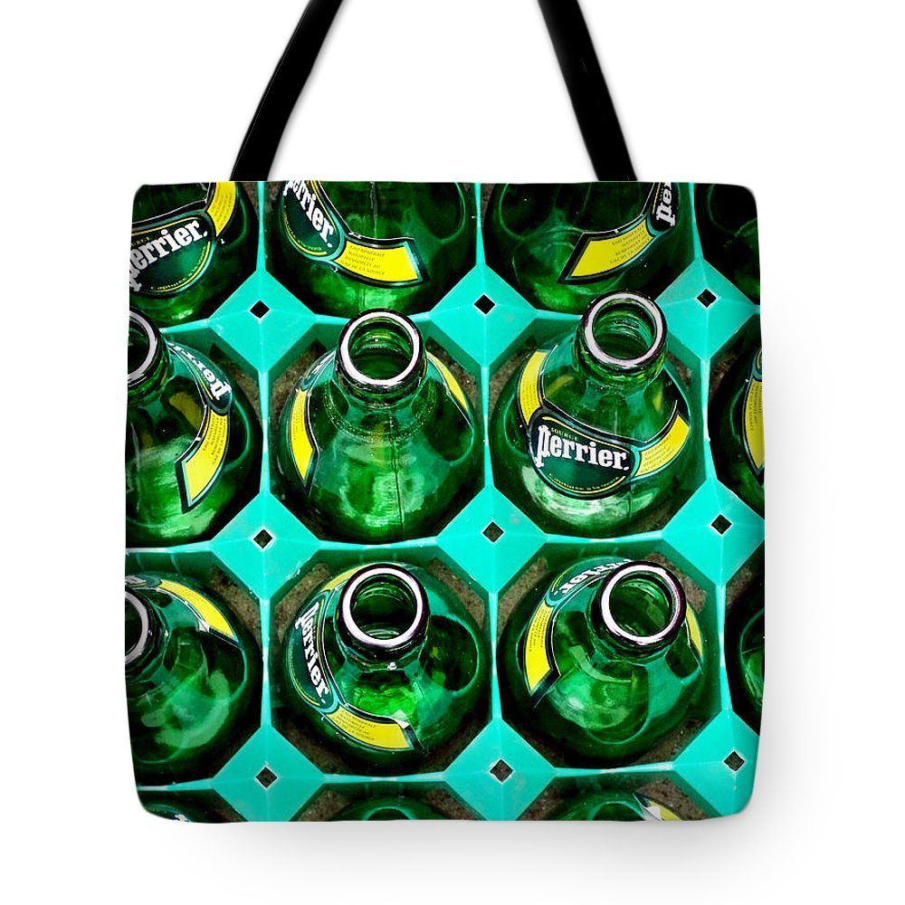 Perrier Tote Bag featuring the photograph Green by Newel Hunter