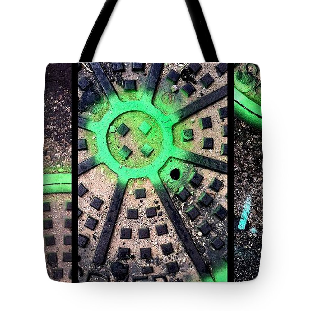 Marlene Burns Tote Bag featuring the photograph Greenery by Marlene Burns