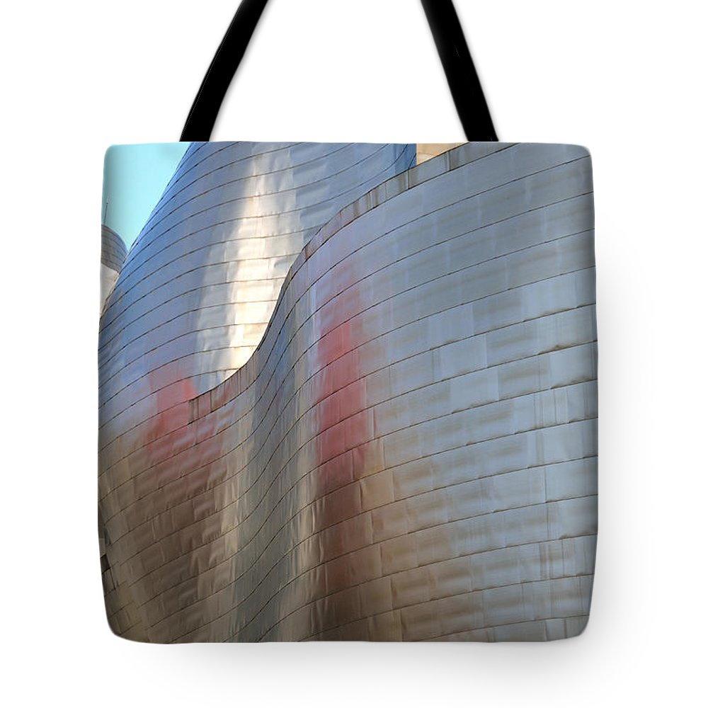 Guggenheim Tote Bag featuring the photograph Guggenheim Museum Bilbao - 2 by RicardMN Photography