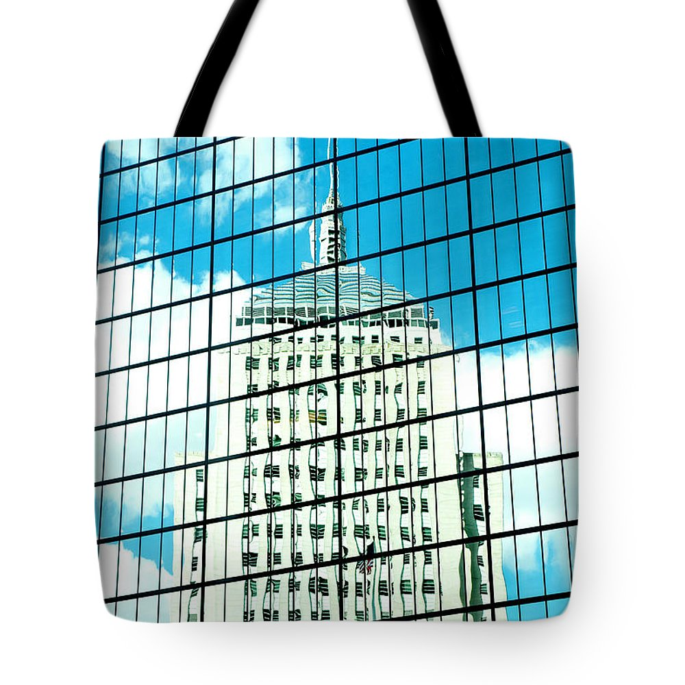 Art Tote Bag featuring the photograph Hancock Within by Greg Fortier