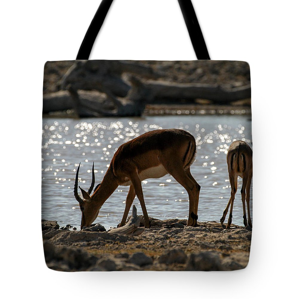 Action Tote Bag featuring the photograph Happy Hour by Alistair Lyne