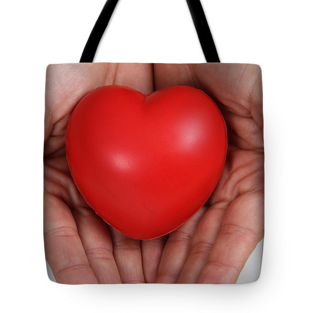 Body Tote Bag featuring the photograph Heart Disease Prevention by Photo Researchers, Inc.