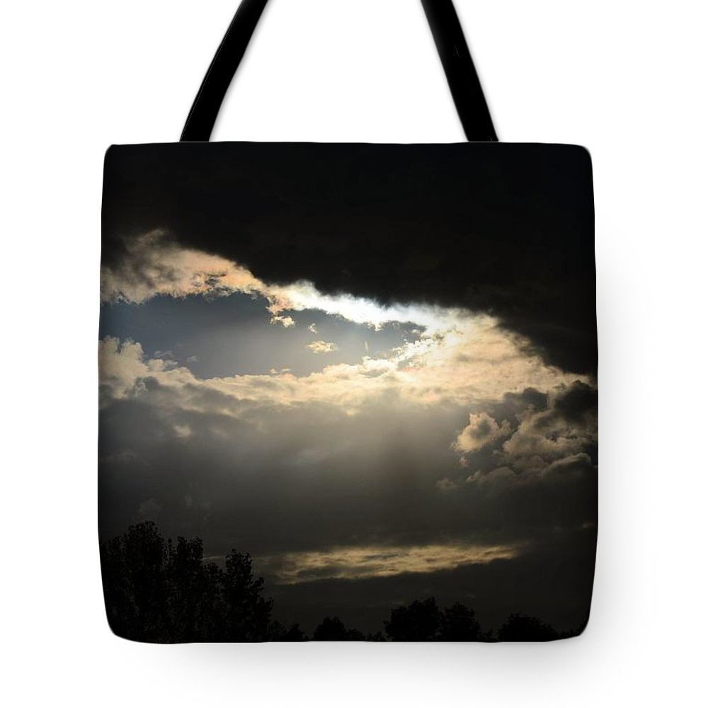Heavenly Nightfall October 2012 Tote Bag featuring the photograph Heavenly Nightfall October 2012 by Maria Urso