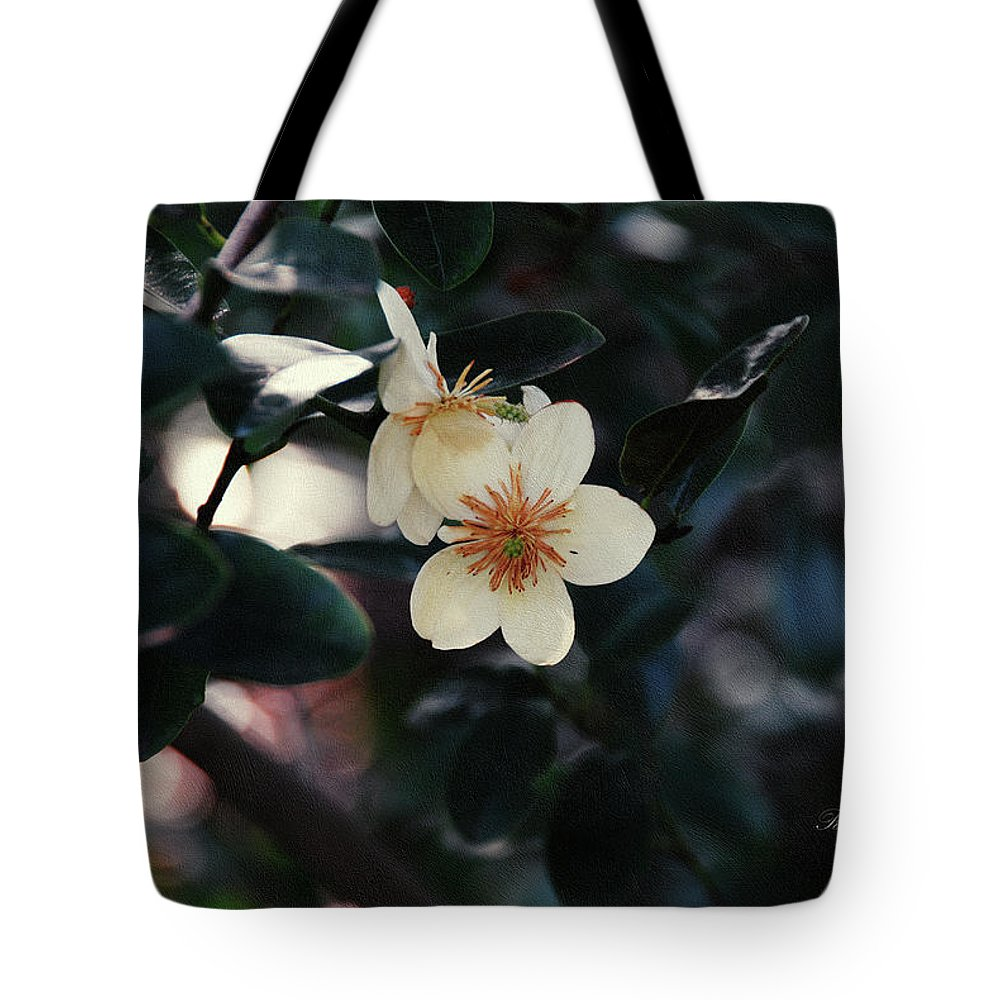 Flower Tote Bag featuring the photograph Hello Spring by Georgiana Romanovna