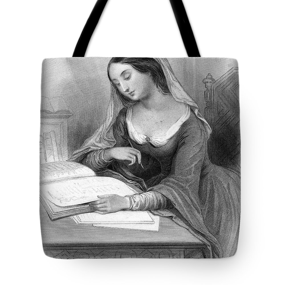 12th Century Tote Bag featuring the photograph Heloise (c1101-c1163) by Granger