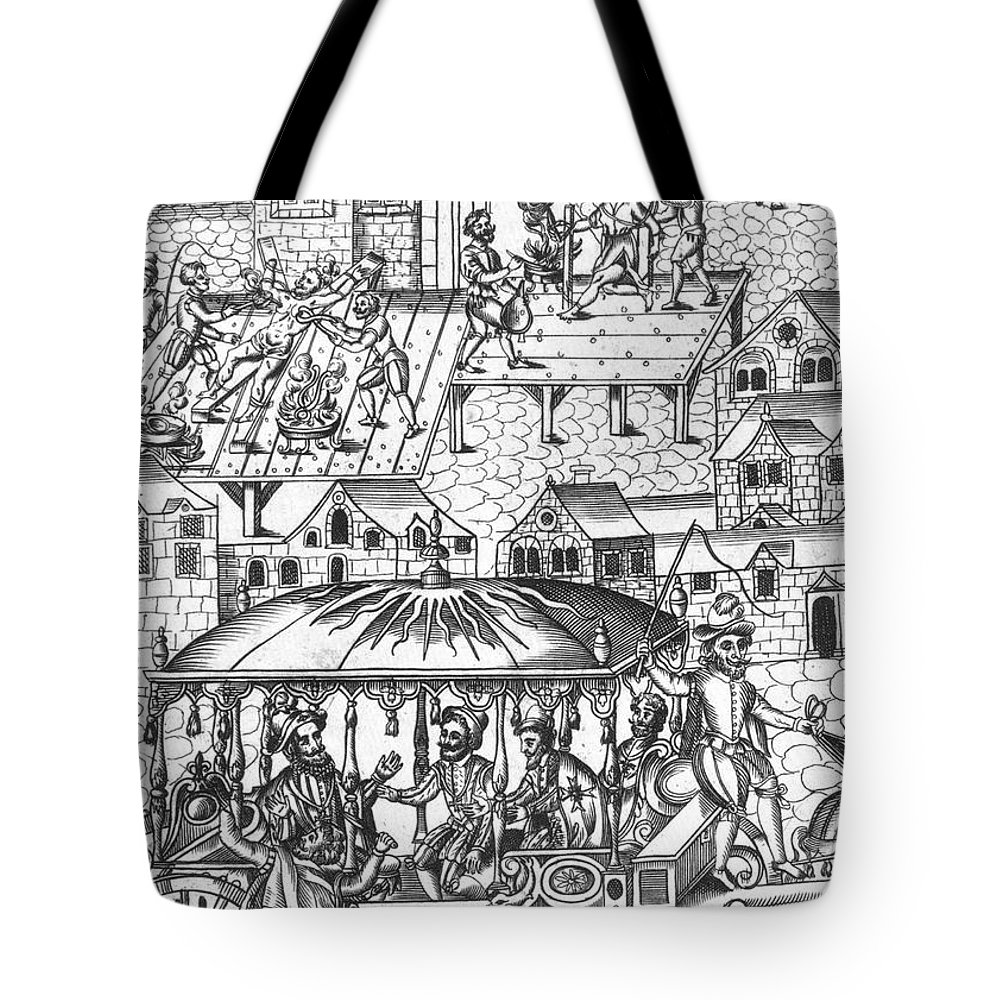 1610 Tote Bag featuring the photograph Henry Iv Of France by Granger