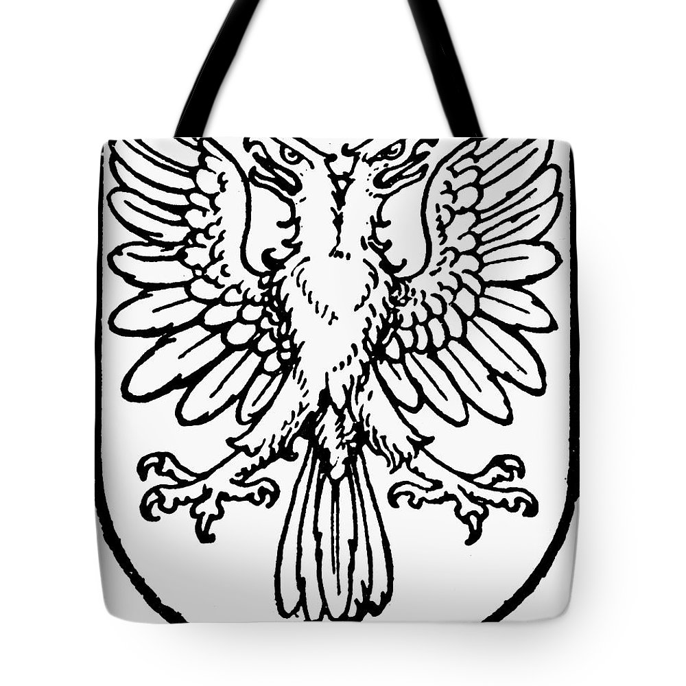 Coat Of Arms Tote Bag featuring the photograph Heraldry: Birds by Granger