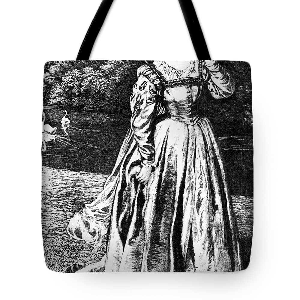 1633 Tote Bag featuring the photograph Herbert: Vanity by Granger