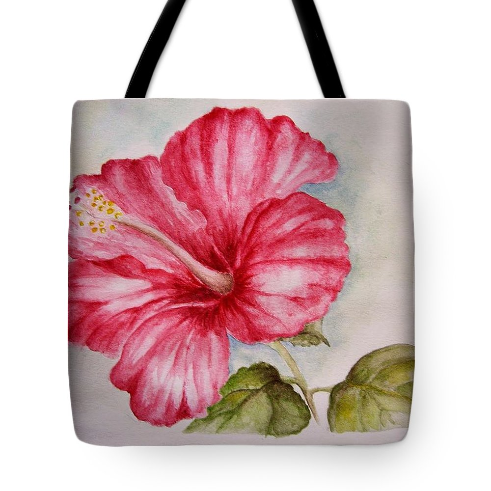 Hibiscus Flower Tote Bag For Sale By Draia Coralia