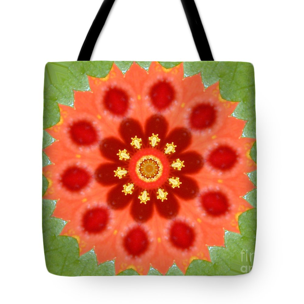 Digital Design Tote Bag featuring the photograph Hibiscus by Mark Gilman
