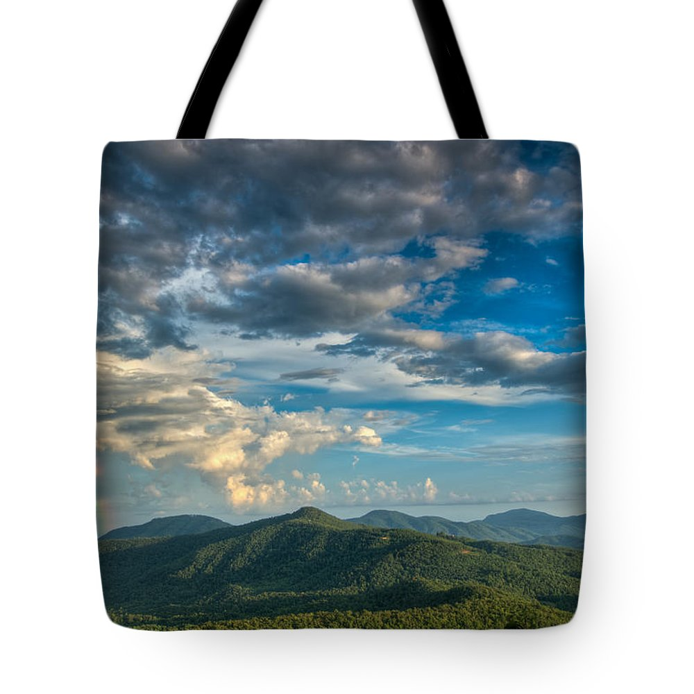 Joye Ardyn Durham Tote Bag featuring the photograph Hidden Rainbow by Joye Ardyn Durham