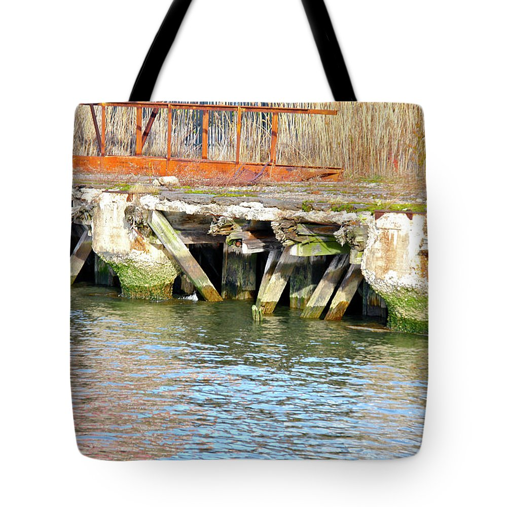 The High Line Tote Bag featuring the photograph High Line Print 11 by Terry Wallace