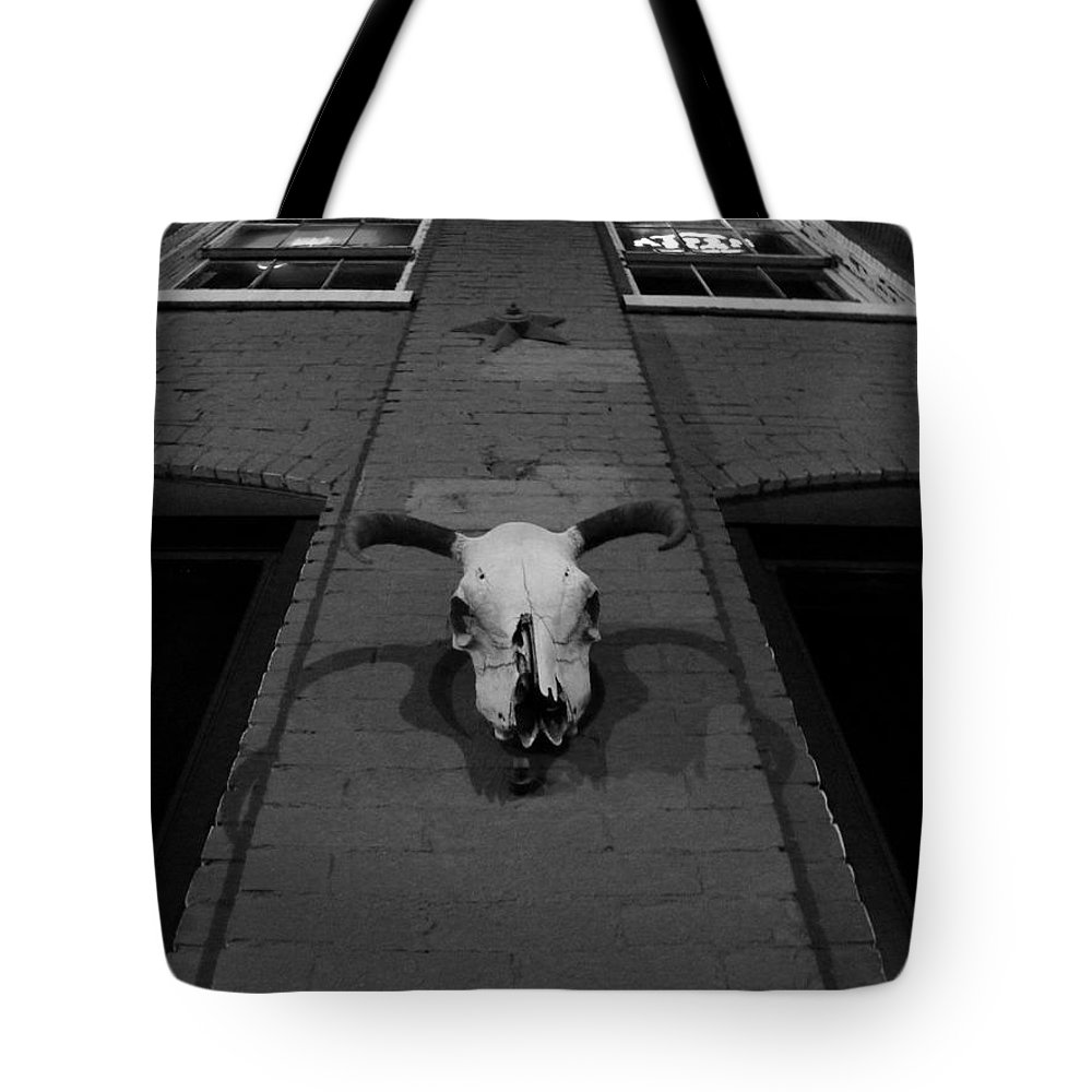 Bar Tote Bag featuring the photograph High Noon Saloon by Chris Berry