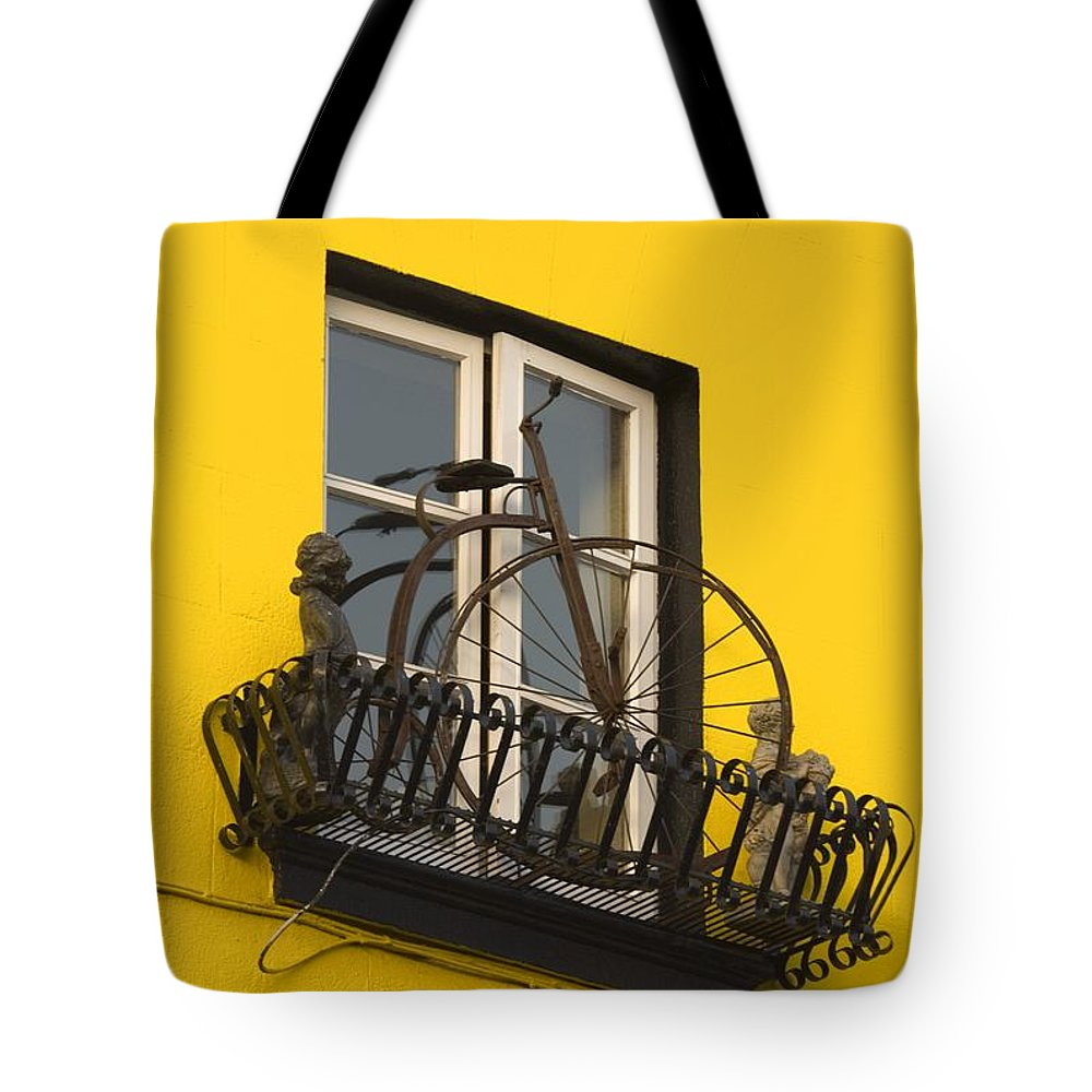 Kilkenny City Tote Bag featuring the photograph High Street, Kilkenny City, County by Richard Cummins