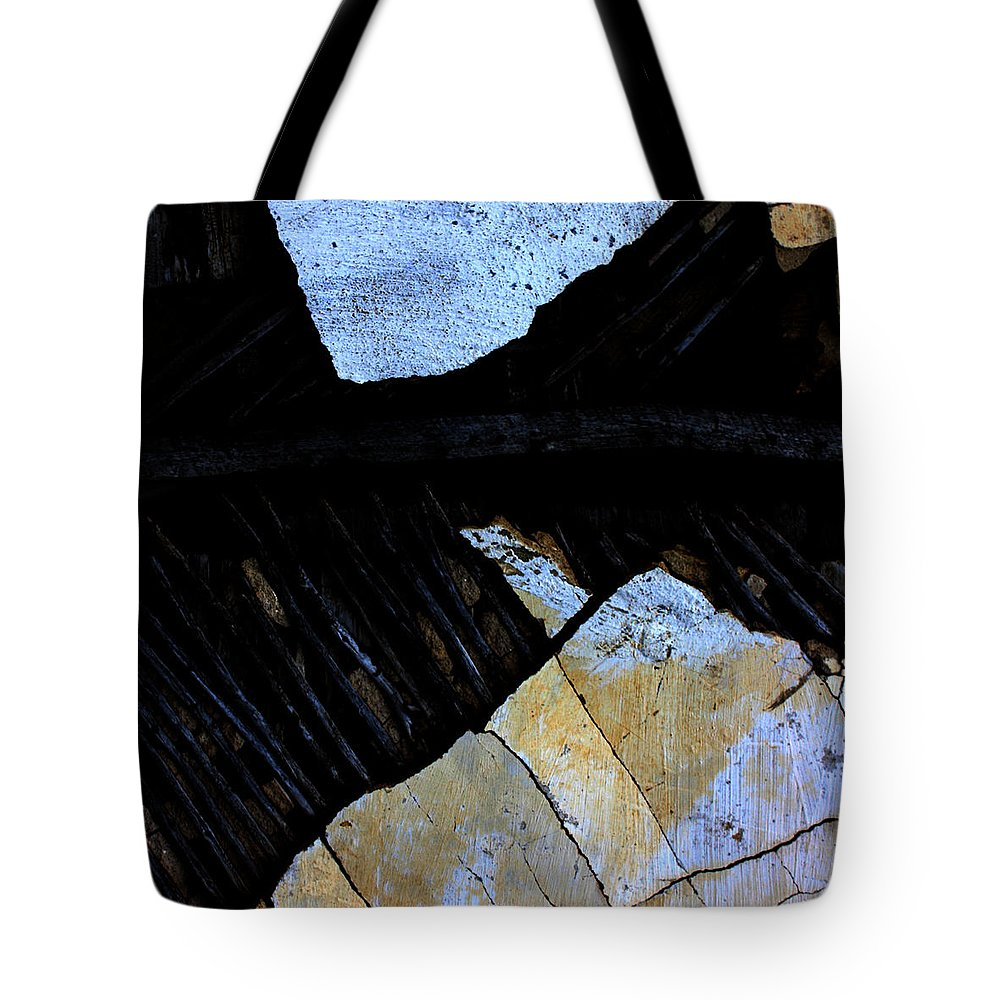 Street Tote Bag featuring the photograph Hills With Stones by The Artist Project