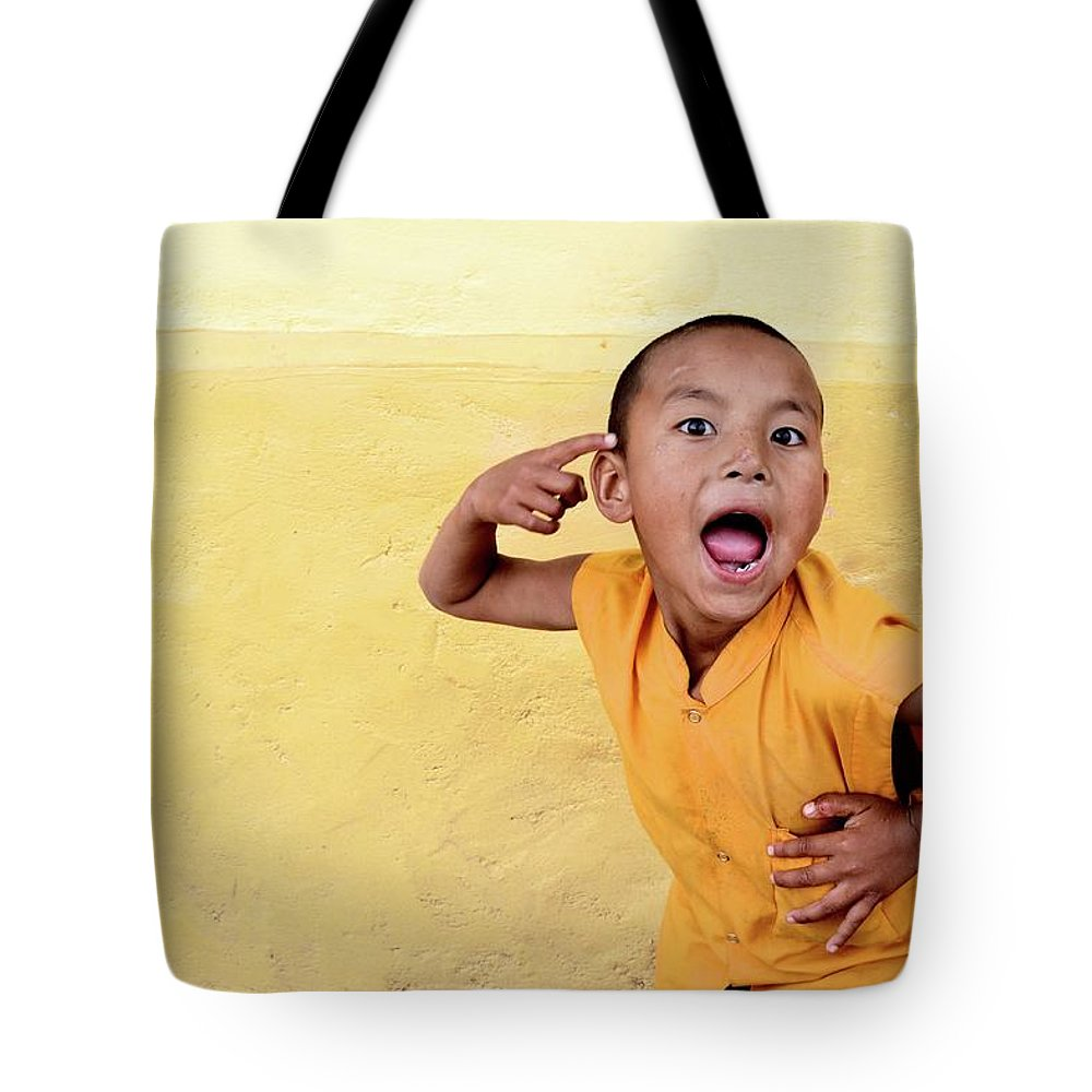 Children Tote Bag featuring the photograph His True Colors by Valerie Rosen