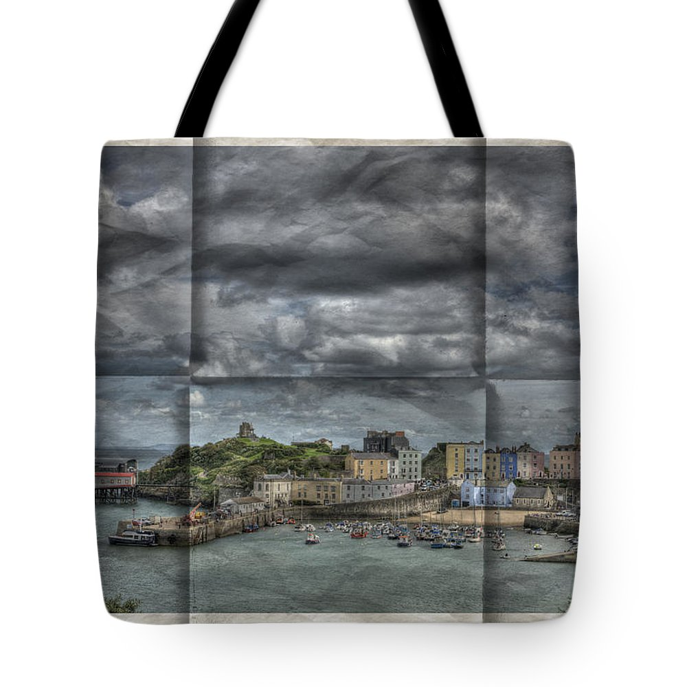 Tenby Harbour Tote Bag featuring the photograph Holiday Memories by Steve Purnell
