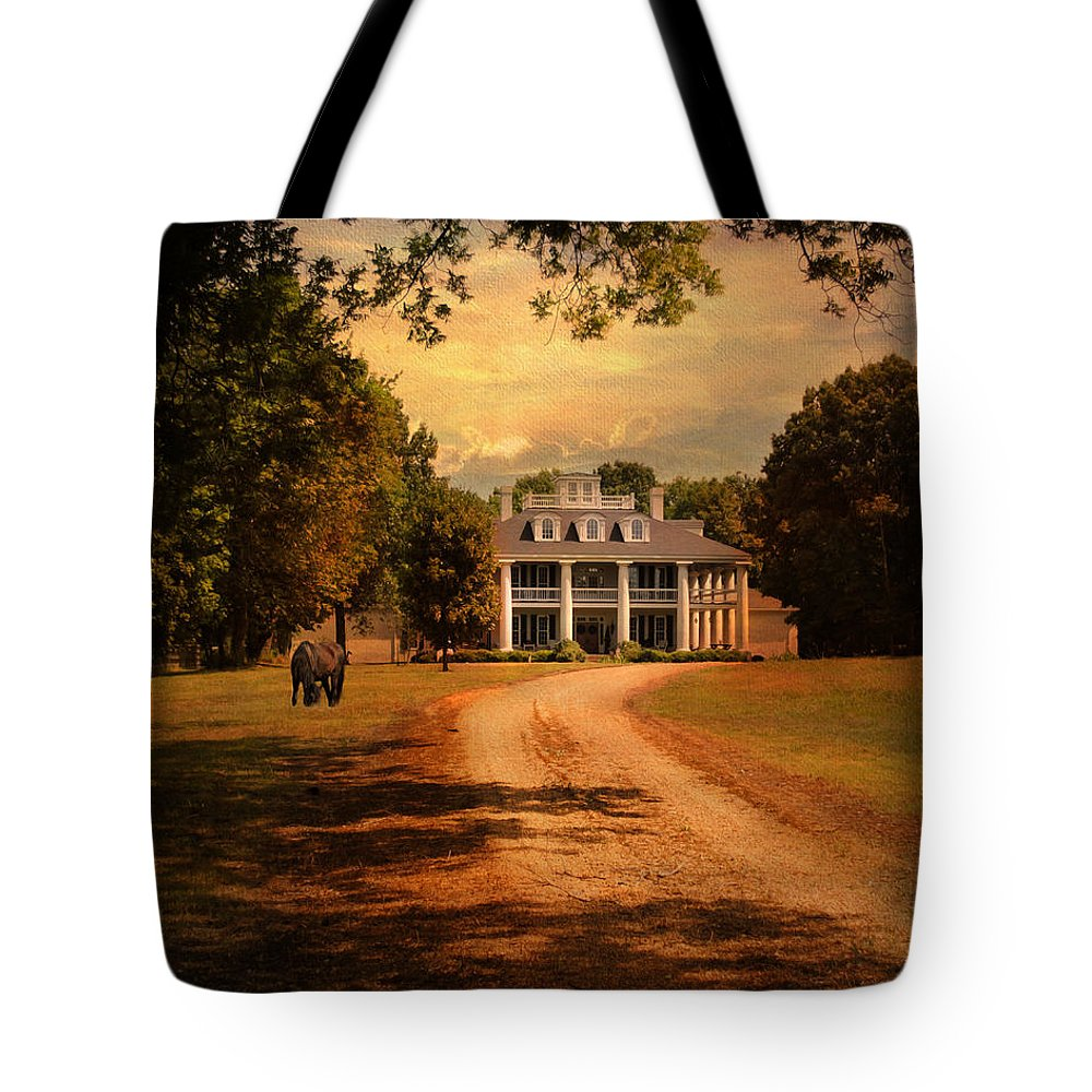 Autumn Tote Bag featuring the photograph Home Sweet Home by Jai Johnson