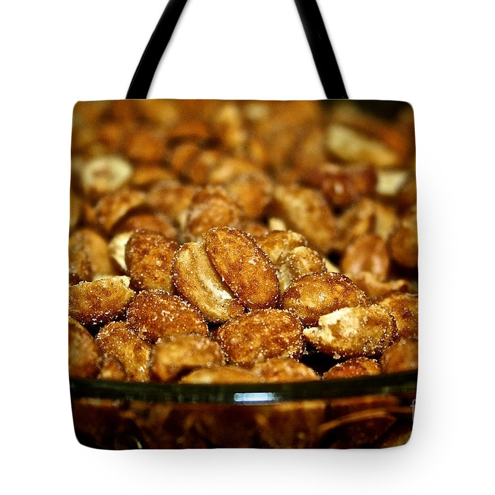 Food Tote Bag featuring the photograph Honey Roasted by Susan Herber