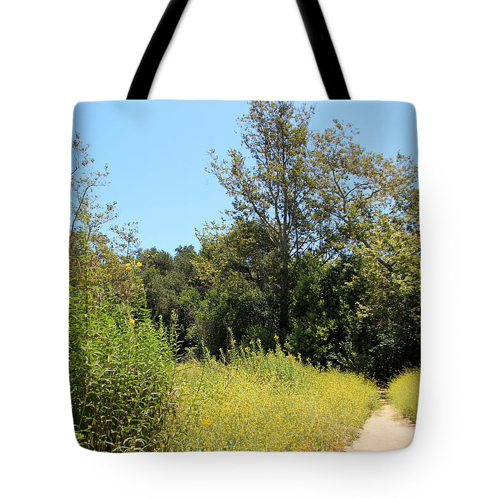 Primrose Tote Bag featuring the photograph Hooker's Evening Primrose And Mustard by Heidi Smith