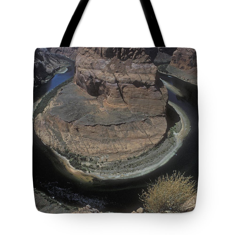 Bronstein Tote Bag featuring the photograph Horseshoe Bend by Sandra Bronstein