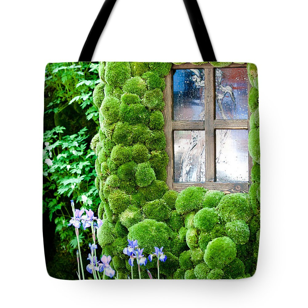 House Tote Bag featuring the photograph House With Moss Walls by Simon Bratt Photography LRPS