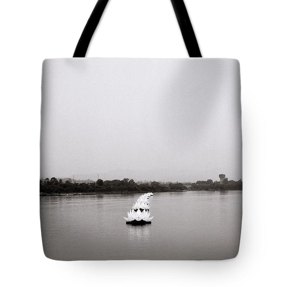 Asia Tote Bag featuring the photograph Hue In Vietnam by Shaun Higson