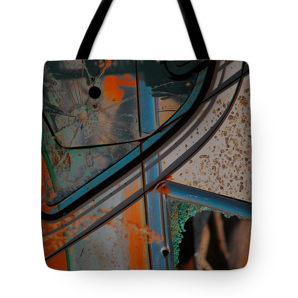 Abstract Art Tote Bag featuring the photograph Hunt For Colours by The Artist Project