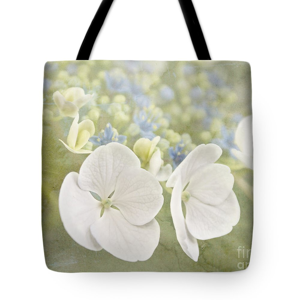 Hydrangea Tote Bag featuring the photograph Hydrangea Dreams by Cindy Garber Iverson