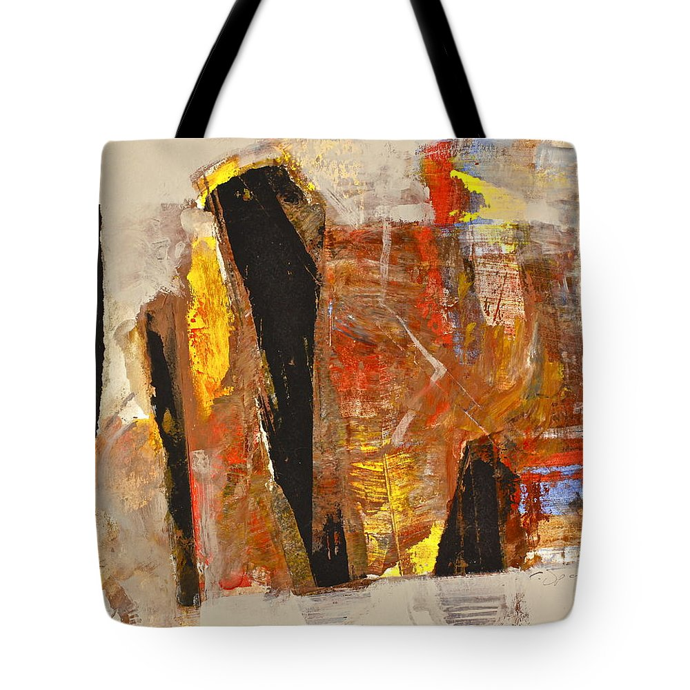 Abstract Paintings Tote Bag featuring the painting I Do What Hindu by Cliff Spohn