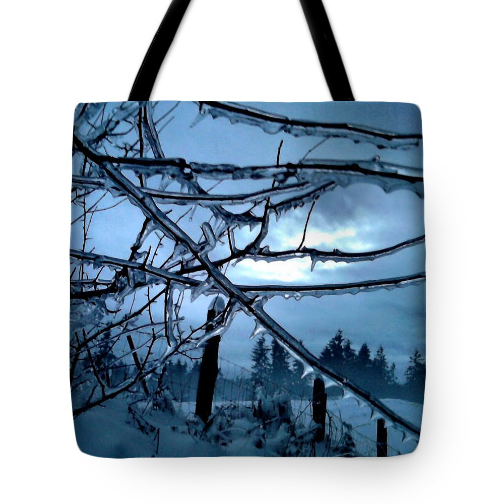 Landscape Tote Bag featuring the photograph Illumination by Rory Sagner