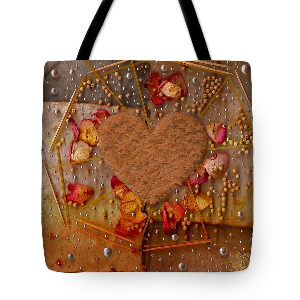 Cookie Tote Bag featuring the mixed media In Cookie And Bread Style by Pepita Selles