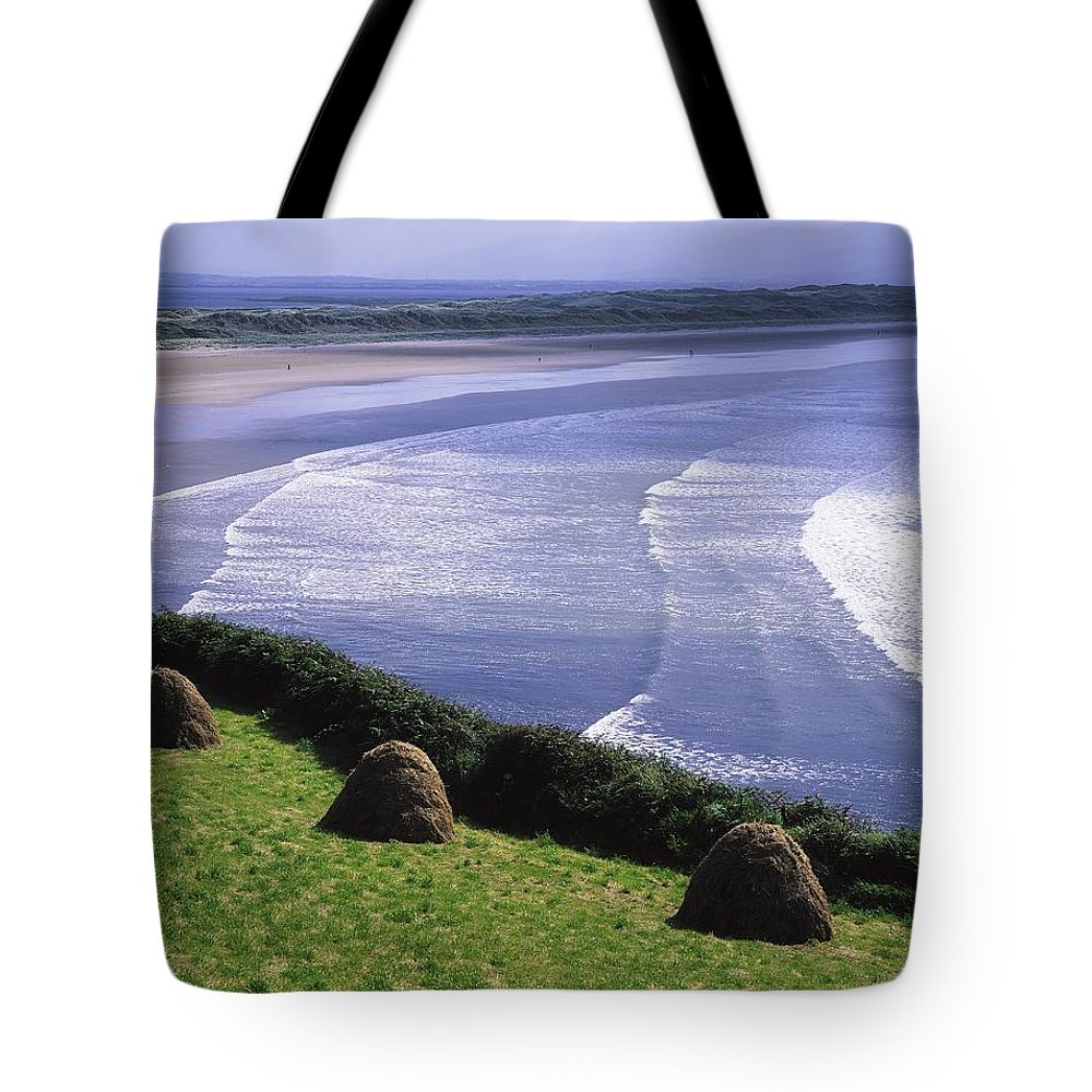 Beach Tote Bag featuring the photograph Inch Beach, Co Kerry, Ireland by The Irish Image Collection