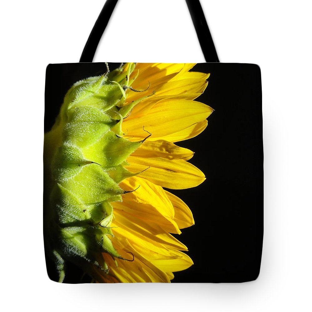 Sunflower Tote Bag featuring the photograph Inner Glow by Shannon Grissom