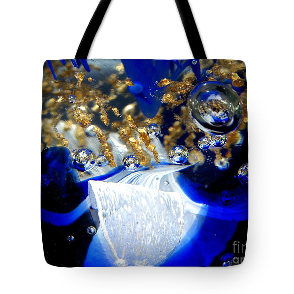 World Tote Bag featuring the photograph Inside The Crystal 1 by John Chatterley