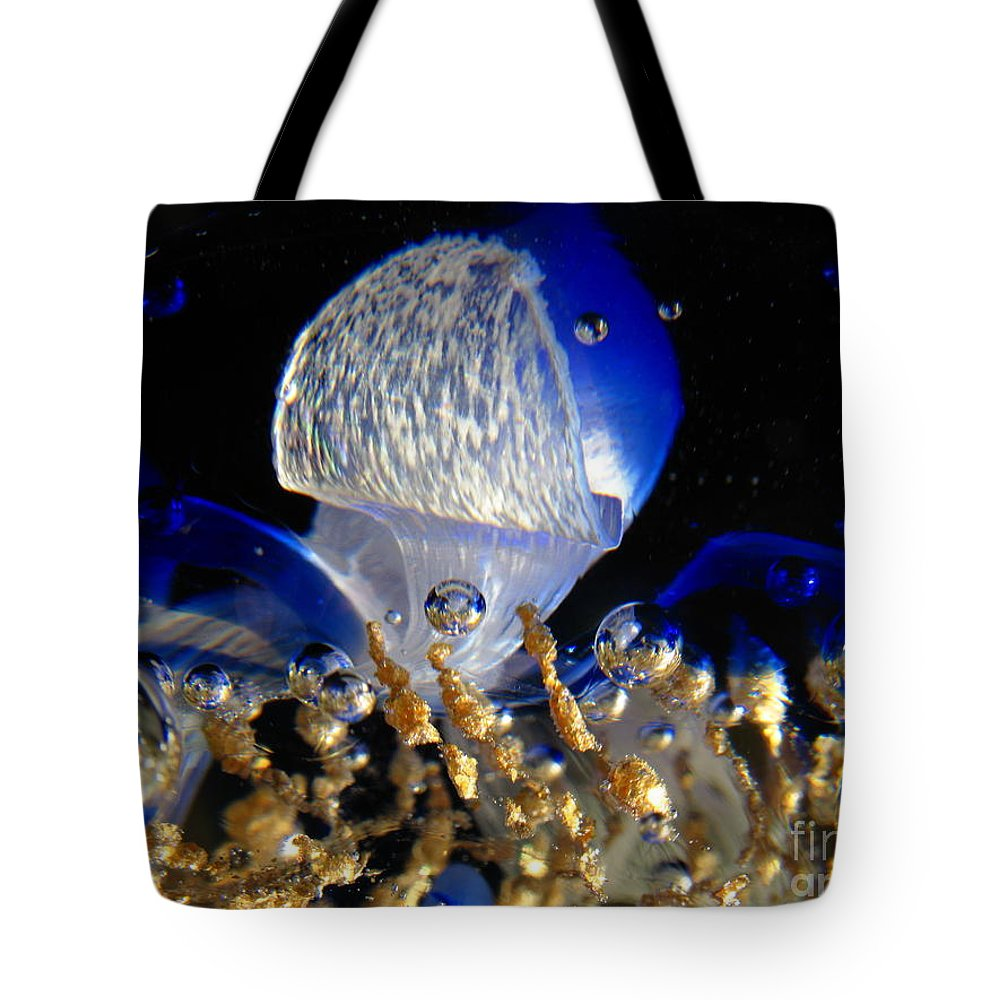 World Tote Bag featuring the photograph Inside The Crystal 2 by John Chatterley